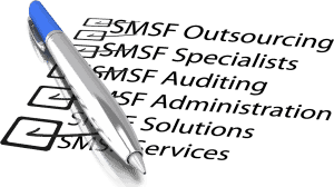Australian SMSF Outsourcing, SMSF Outsourcing Specialists, SMSF Auditing Audit, Outsourcing SMSF Administration, SMSF Outsourcing Solutions, SMSF Outsourcing Services and Self Managed Superannuation Funds Checklist